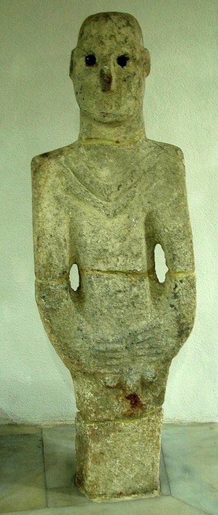 Standbeeld van een man (Sanli Urfa Müzesi)