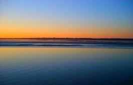 Zonsondergang bij Schiermonnikoog - cc Patlo