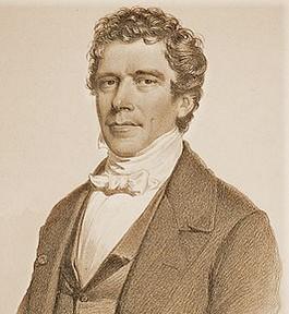 Charles Rogier,  een van de grondleggers van de Belgische staat