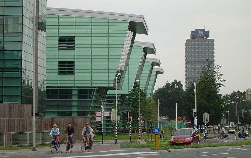 Huygensgebouw van de Radboud Universiteit Nijmegen