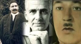 Van links naar rechts: Si Ali Sakkat, Khaled Abdul Wahab en Hamza Abdul Jalil. (PBS)