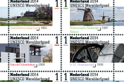 Werelderfgoed-postzegels