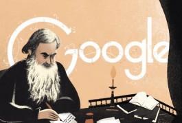 Afbeelding van Leo Tolstoj in de Doodle