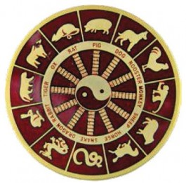 De haan is het tiende teken van de Chinese
