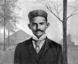 Gandhi in Zuid-Afrika,  1895