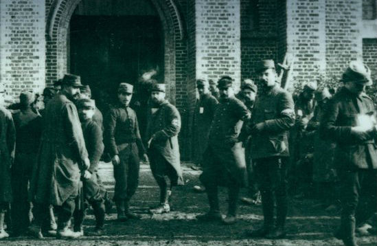 Detail van de cover van 'Oorlogsdagboeken 1914-1918'