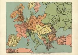 Het Gekkenhuis - Louis Raemaekers, 1914