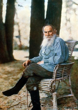 Leo Tolstoj in 1908