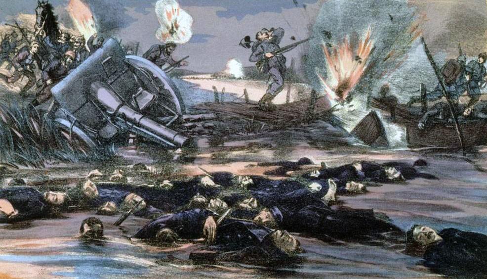 Slag om de IJzer - A. Tolmer, ca. 1918
