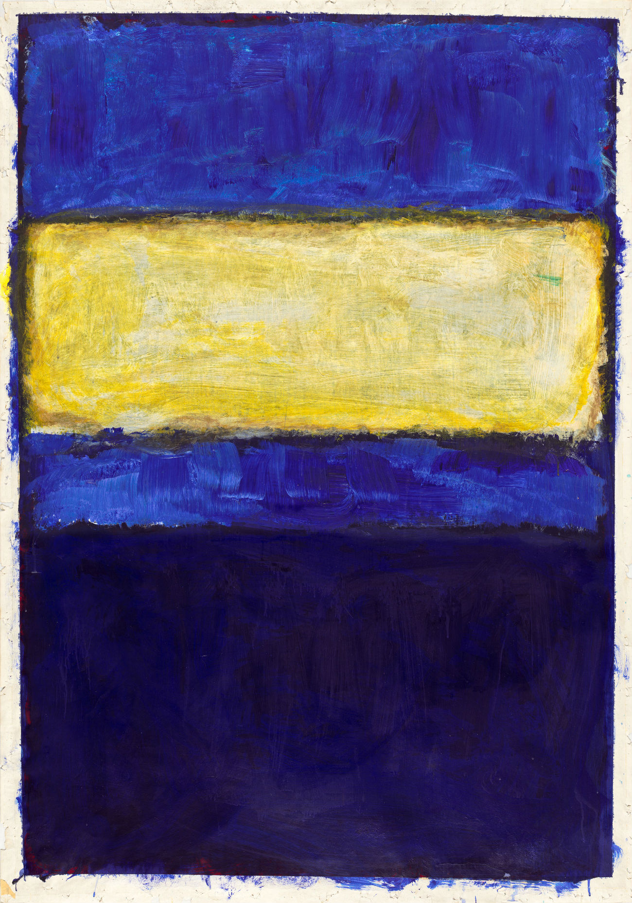 Untitled 1968 acrylic on paper Mark Rothko (Gemeentemuseum)