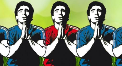 'Voetbal heeft plaats religie ingenomen' (Amsterdam Museum)