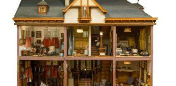 De poppenhuizen van de Haagse Lita de Ranitz
