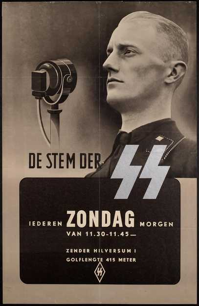 Volksontvanger-propaganda (MVDG / NIOD)
