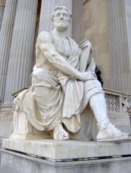 Beeld van Tacitus in het parlement van Wenen