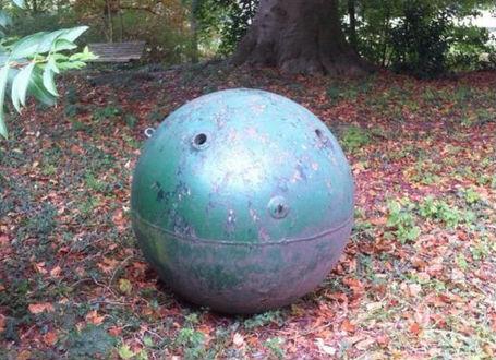De oude zeemijn (politie Zaltbommel)