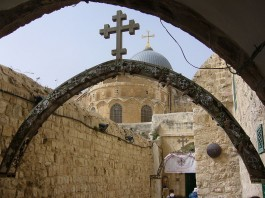 Heilige Grafkerk in Jeruzalem - cc