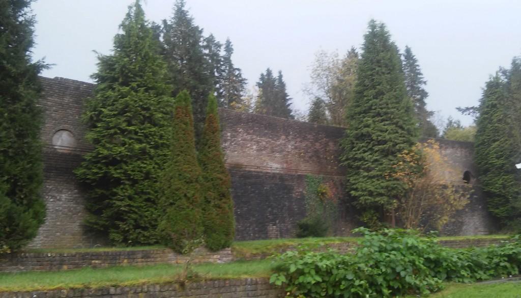 Muur van Mussert in 2014