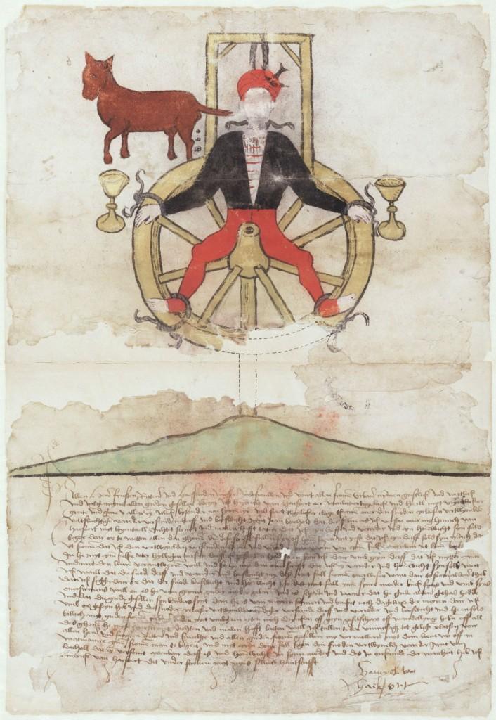 Booswichtenbrief - Bron: Oud Archief Zutphen, inventarisnummer 795.