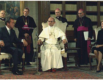 Paus Paulus VI (Publiek Domein - NARA - wiki)