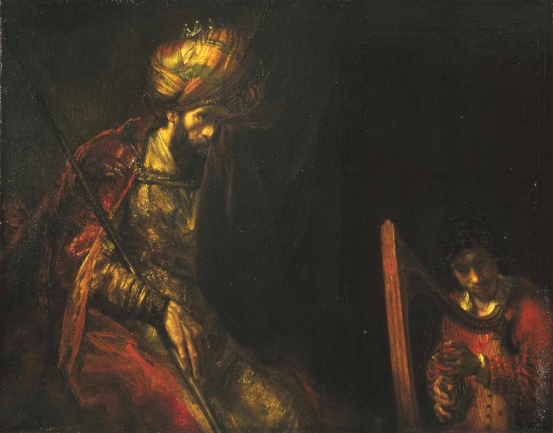 Saul en David - Ook een Rembrandt? (Mauritshuis)