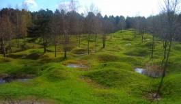Voormalige slagveld van Verdun