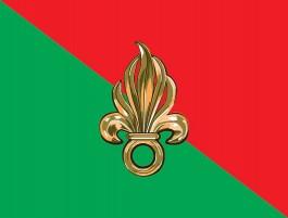 Vlag van het Vreemdelingenlegioen