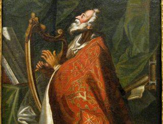 Koning David (Gottlieb Welté)
