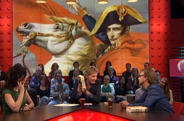 Bart van Loo vertelt bij DWDD over Napoleon