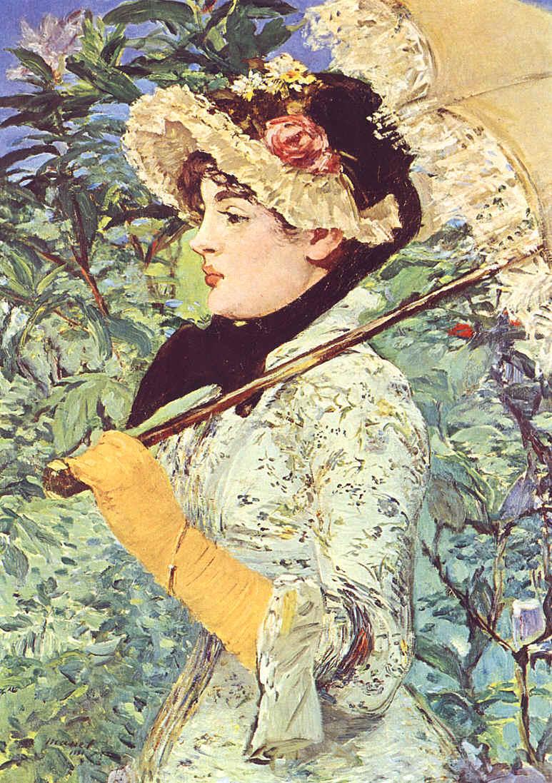 Le Printemps - Edouard Manet, 1881