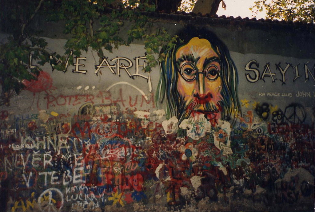Lennon Wall in 1993