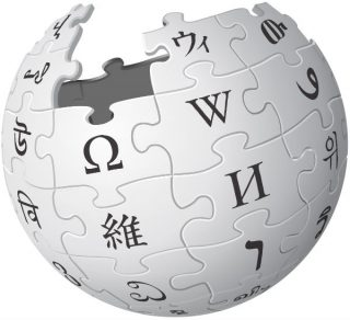 Logo van Wikipedia