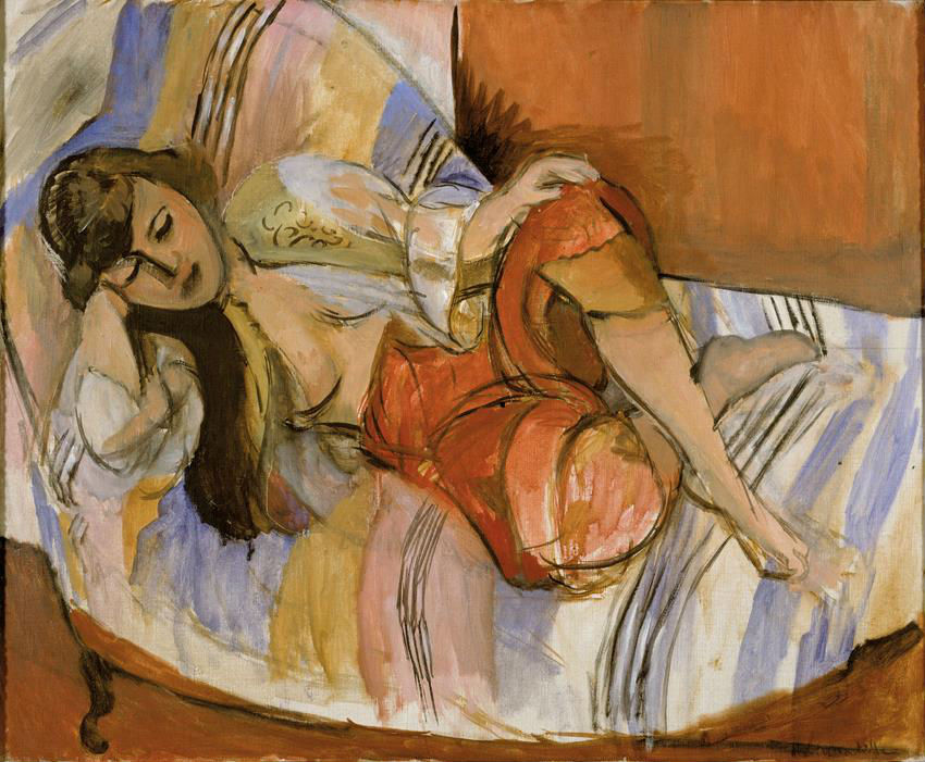 Henri Matisse, Odalisque, 1921 (SMA)