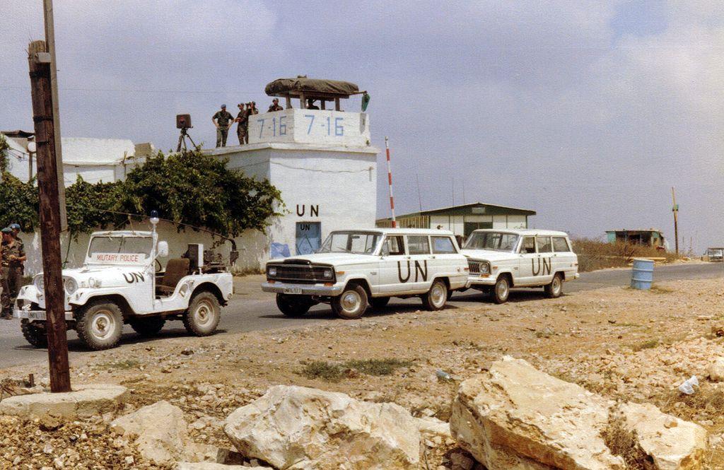 Nederlande UNIFIL-basis in 1981