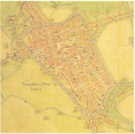 Utrecht volgens Jacob van Deventer, 1556 - cc