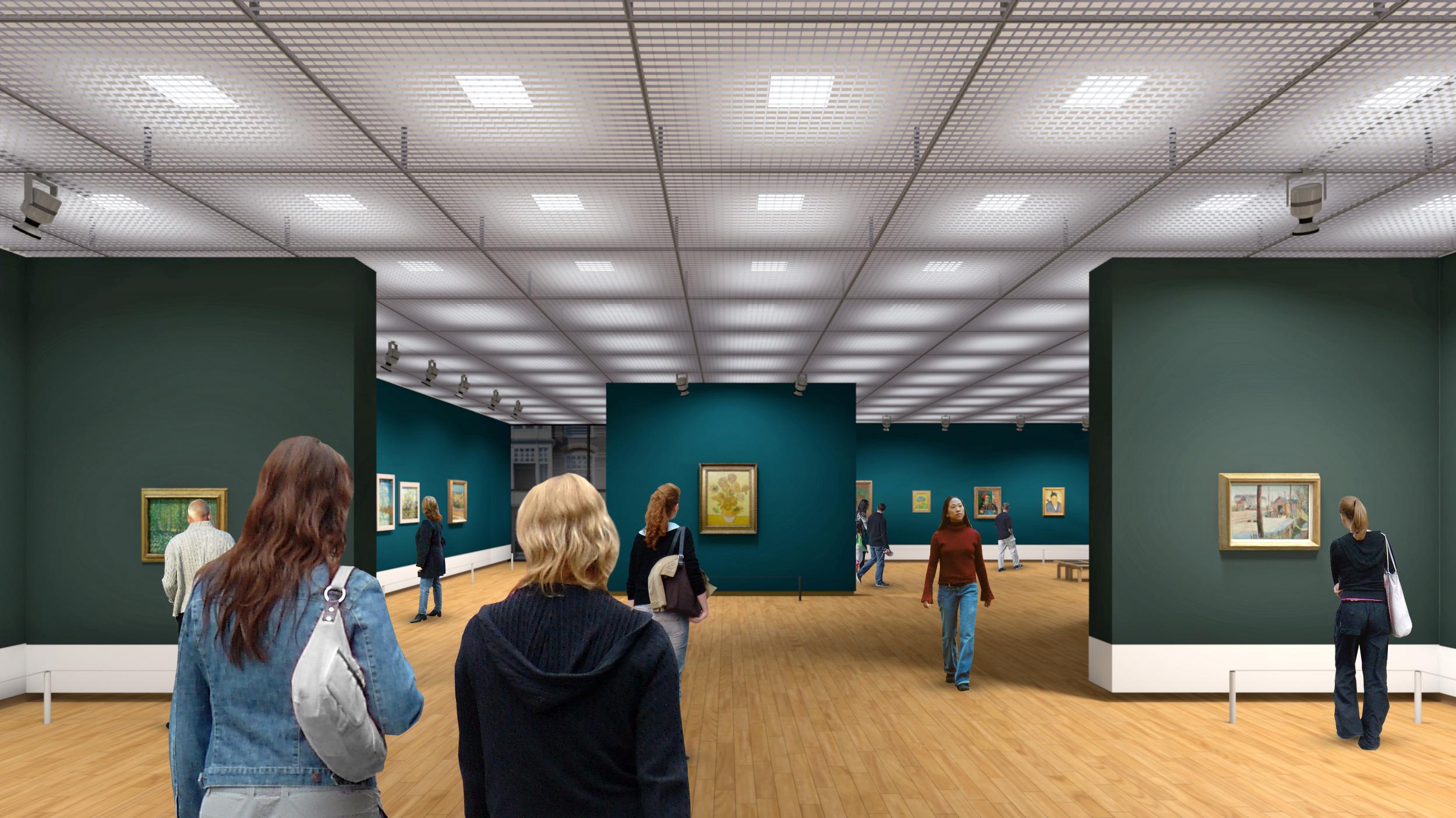 De nieuwe opzet van het museum (Floris Visualisaties / VGM)