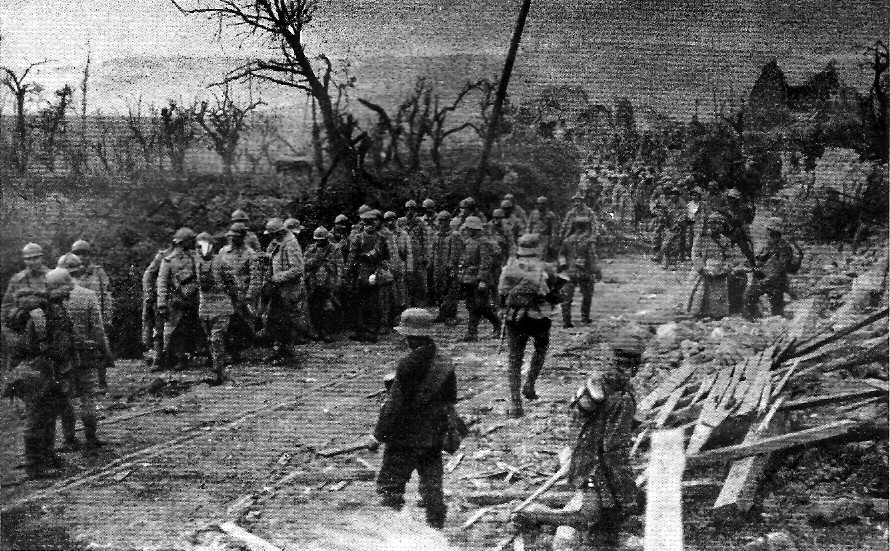 Franse krijgsgevangenen in 1918