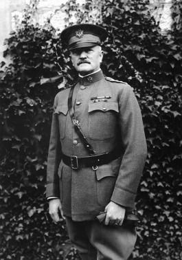 Generaal John Pershing in 1918
