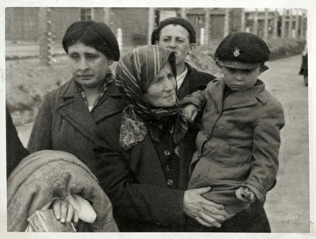 Foto uit het Auschwitz Album, mei 1944