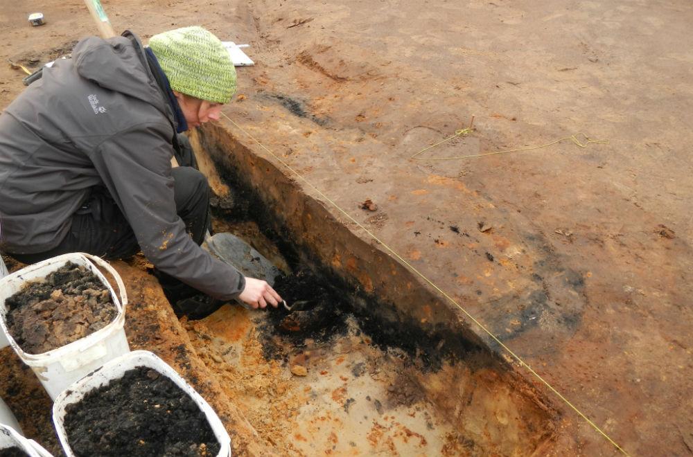 Archeoloog op locatie (FINN.be)