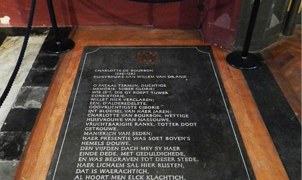 De grafsteen