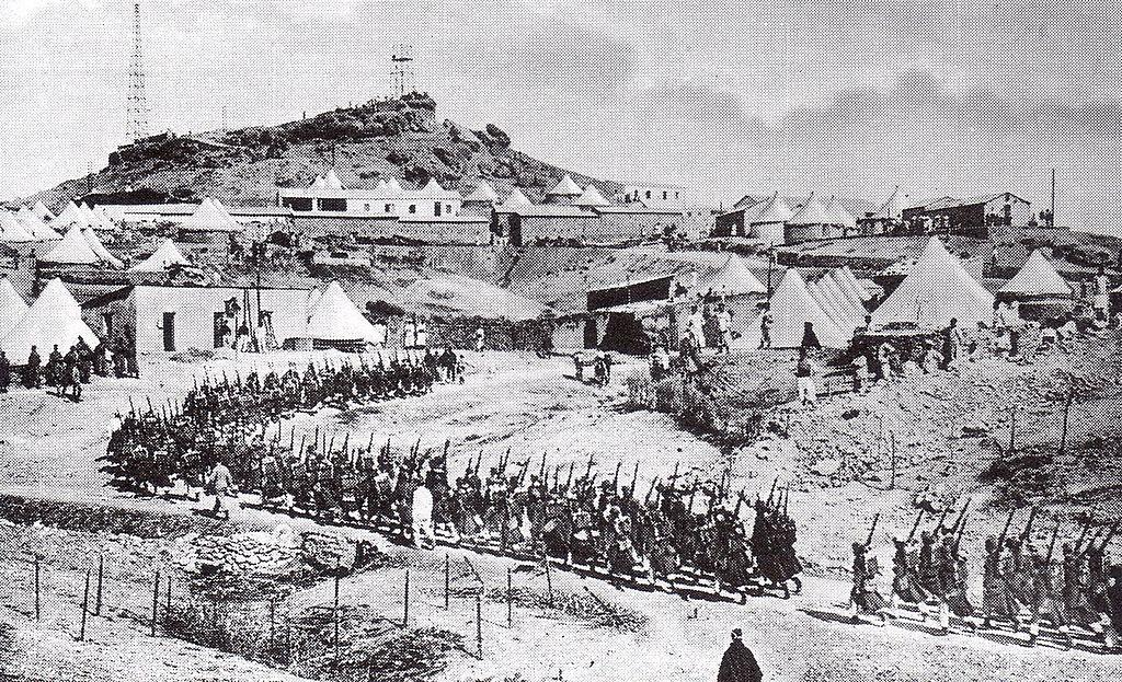 Frans troepen in Marokko, maart 1912