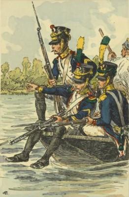 Johannes Ermers uit Sint Hubert diende als voltigeur in het leger van Napoleon