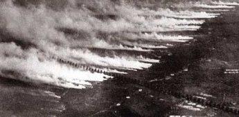 De eerste grote gifgasaanval van de Eerste Wereldoorlog