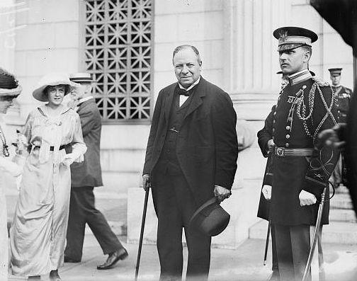Haldane, kort voor het uitbreken van de Eerste Wereldoorlog