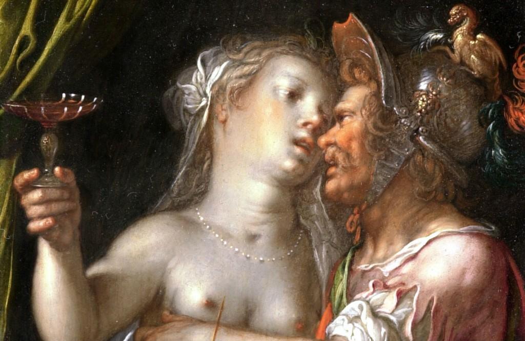 Joachim Wtewael, Mars, Venus en Cupido (detail), ca. 1610. Stichting P. en N. de Boer, Amsterdam