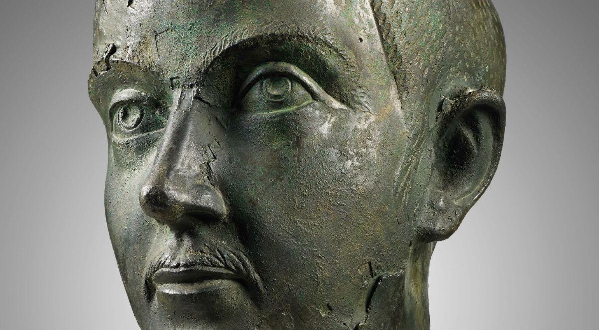 Kop van keizer Gordianus III uit Niederbieber (Valkhof)