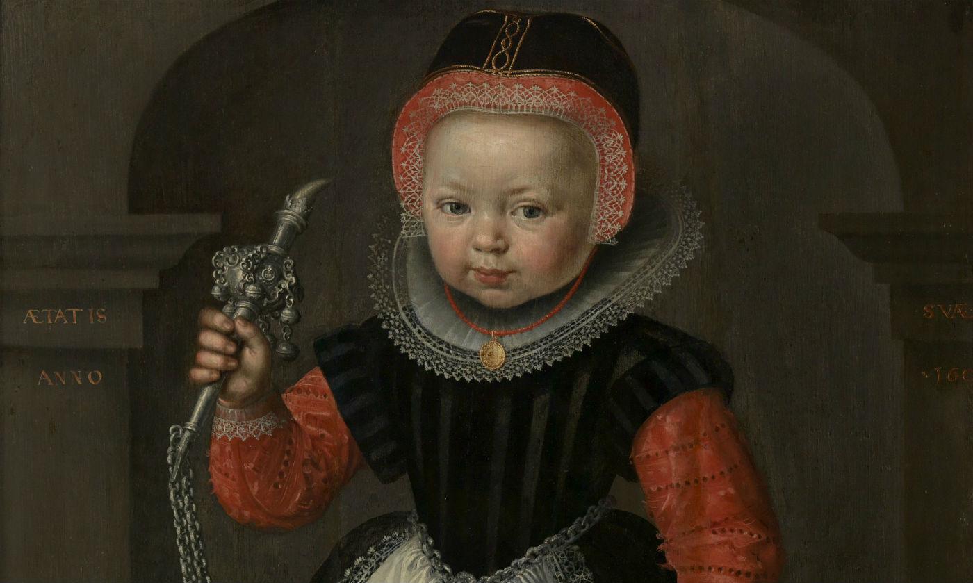 Meisje met rinkelbel (Museum Martena)