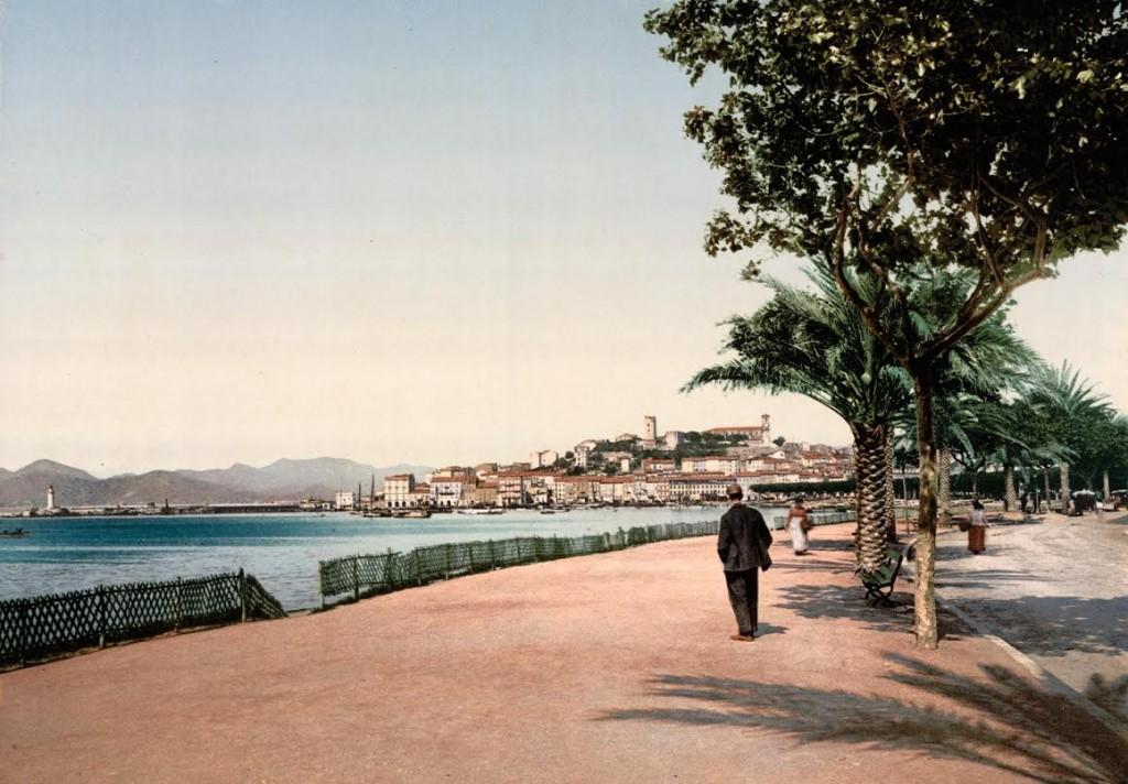 Fotochroom Promenade de la Croisette, Cannes, ca. 1900