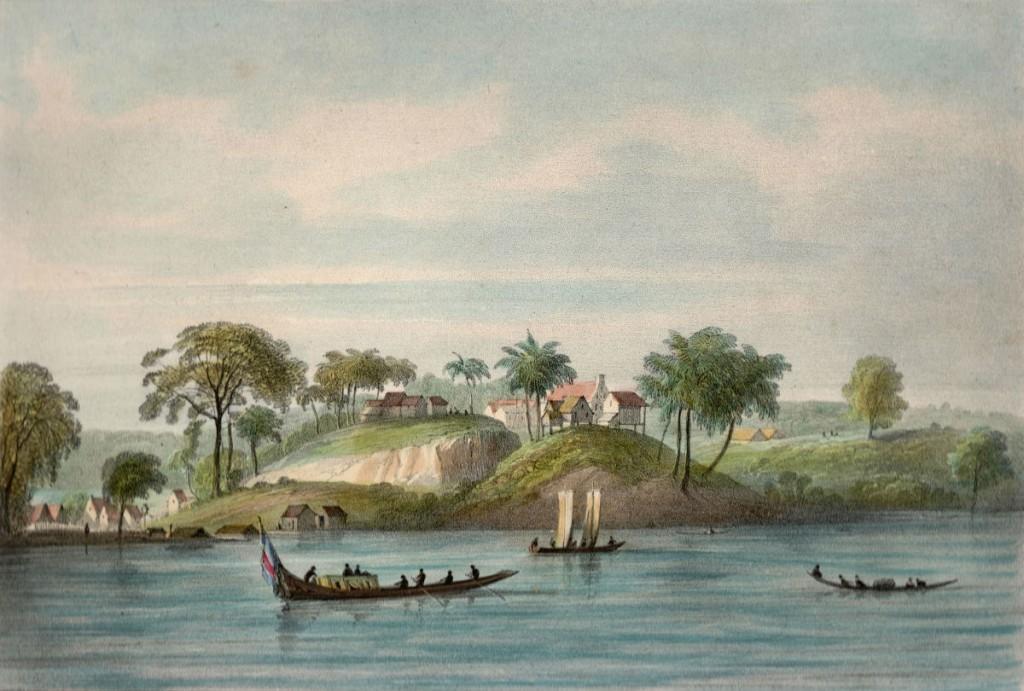 Pierre Jacques Benoit, Litho uit Voyage à Surinam, Brussel. Collectie Kenneth Boumann