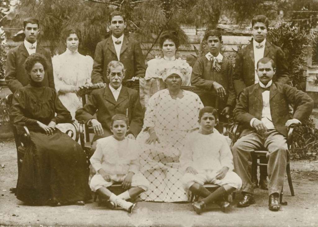 Familie Fernandes. Collectie Familie Fernandes-Vroom